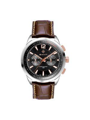 Ανδρικό ρολόι GANT Walworth G144001 Καφέ