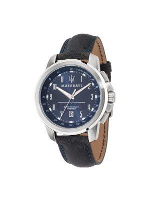 Ανδρικό Ρολόι Maserati Successo R8851121003 Μπλε
