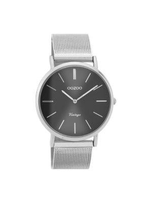 Γυναικείο ρολόι Oozoo C9938 Ασημί