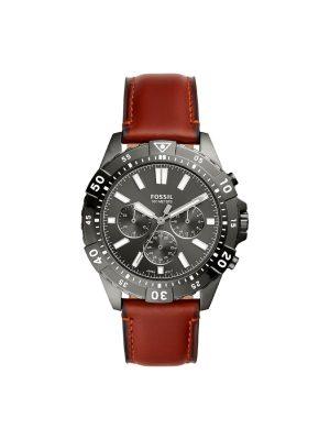 Ανδρικό Ρολόι Fossil Garrett FS5770 Καφέ