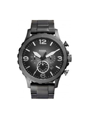 Ανδρικό Ρολόι Fossil Nate JR1437 Γκρι