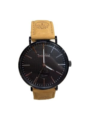 Ανδρικό ρολόι Timberland Kinsley TDWGA2103704 Καφέ Λουράκι.