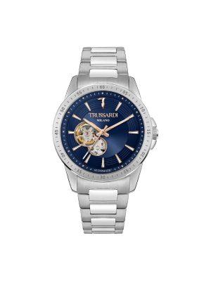 Ανδρικό ρολόι Trussardi T-Hawk R2423153002 Ασημί