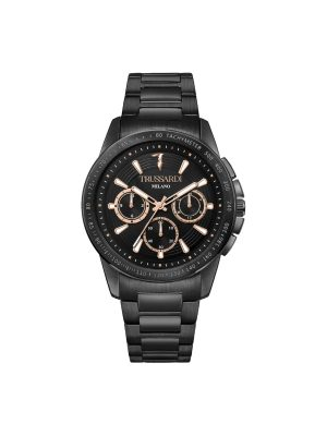 Ανδρικό ρολόι Trussardi T-Hawk R2453153002 Μαύρο