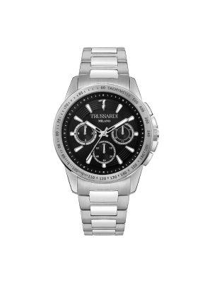 Ανδρικό ρολόι Trussardi T-Hawk R2453153004 Ασημί