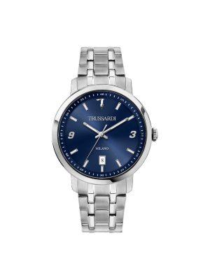 Ανδρικό ρολόι Trussardi T-Couple R2453147010 Ασημί