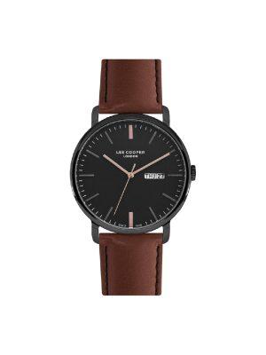Ανδρικό ρολόι Lee Cooper LC07092.654 Καφέ