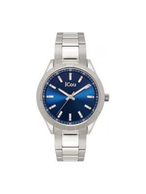 Γυναικείο ρολόι JCOU Oceanis JU19055-1 Ασημί
