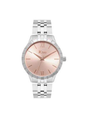 Γυναικείο ρολόι JCOU Mystique JU19056-1 Ασημί